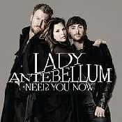 Letra Lady Antebellum - Need You Now