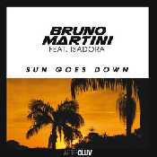 Letra Bruno Martini - Sun Goes Down (feat. Isadora)