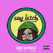 Letra Snow Tha Product - Say Bitch