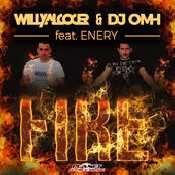 Letra Willy Alcocer - Fire (feat. Enery y Dj Omh